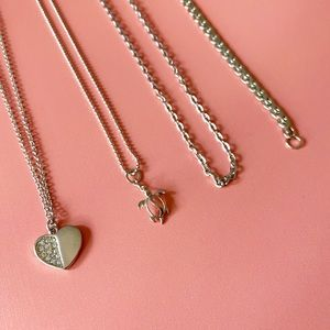 Jewelry - Set of Three Necklaces & a Bracelet